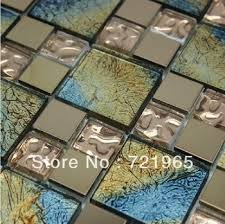 stainless steel moaic glass mosaic tile ssmt194 glass mosaic stainless steel tiles backsplash kitchen glass tiles
