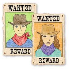 Draw A Wanted Poster Self Portrait By Art Projects For Kids Tpt