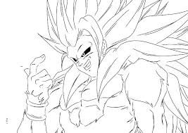 Vegeta Super Saiyan Coloring Pages Dragon Ball Z And Page 3
