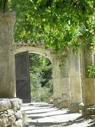 garden pillars. Pillars And An Arch Garden A
