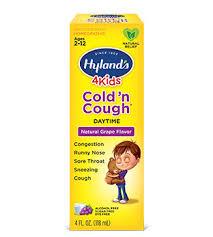 Hylands 4 Kids Cold N Cough Grape Flavor
