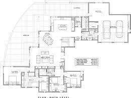 First Floor Plan Of Florida Luxury Mediterranean House Plan 63079 Luxury Floor Plans