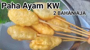 Telur congkel jajanan sd | all resep. Ide Jualan 500an Paha Ayam Kw Youtube