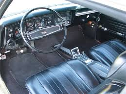1969 chevrolet chevelle ss 2 door coupe interior 96490