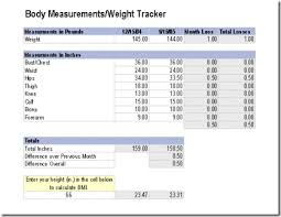 Office Weight Loss Challenge Tracker Plan Workouts And Keep Track Of Weight Loss With Microsoft Office