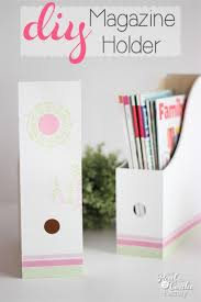 Cute Magazine Holders Inspiration Make This Adorable DIY Magazine Holder Magazine Holders