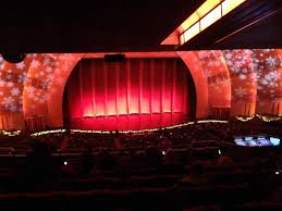 Radio City Music Hall Section 2nd Mezzanine 5 Row K Seat