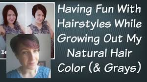 Growing Out Hair Style hairstyle ideas while growing out my natural hair color going 2107 by stevesalt.us