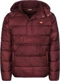 mens ellesse filardi winter jacket ellesse men maroon winter coats j79f98m