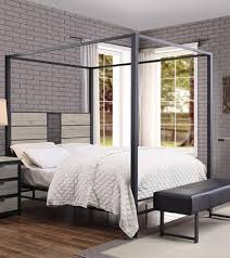 Acme Furniture 22050T Baara Series Twin Size Canopy Bed