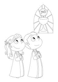 First Communion Coloring Pages Coloring Pages For First Communion