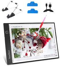 SanerDirect <b>Diamond Painting A4 LED</b> Light Pad - Tracing Light Box ...