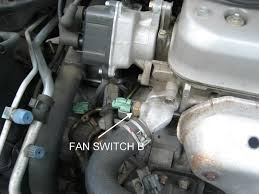 diy a c cooling system honda tech step 2 so first in your underhood fuse box located to the top left corner open it and look inside for the two fan fuses and one radiator fan relay