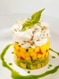 Chart House Recipes Recipe Chart House Restaurant Crab Avocado And Mango Stack