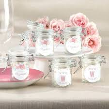 wedding shower favors personalized gl favor jars rustic bridal collection set of decorations diy printable
