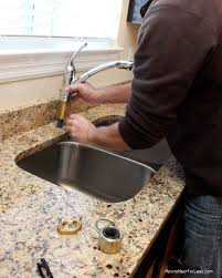 diy how to install a kitchen faucet