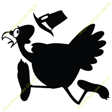 running turkey clipart black and white. Wild Turkey Clip Art On Running Clipart Black And White