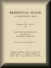 perpetual peace by immanuel kant a project ebook book cover