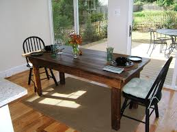 marble dining room table darling daisy: classic reclaimed wood dining room table darling and daisy