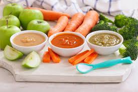 Nhóm thực phẩm phù hợp với thực đơn ăn dặm cho bé 6 tháng tuổi - Vinamilk  Bột dinh dưỡng