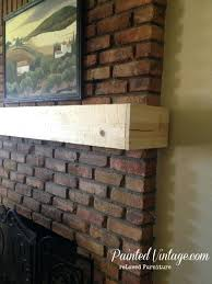 wooden mantel over brick fireplace wood mantle mantels