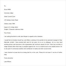 Employment Character Reference Letter Free Reference Letter