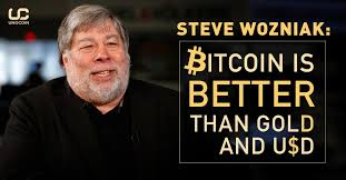 Bitcoin Quote Unique Steve Wozniak Bitcoin Is Better Than Gold And USD Unocoin