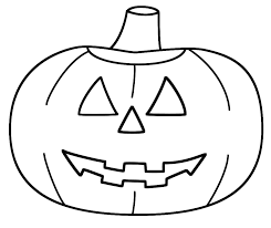 Free Printable Jack O Lantern Coloring Pages Pumpkin Picture To
