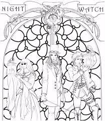 Kleurplaat Nachtwacht Rembrandt