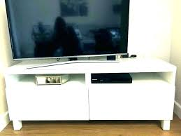 wall mounted tv console mount table stand lack coffee diy