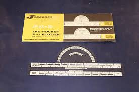 Wac Charts Canada Vintage Jeppesen Pn2 The Pocket 2 In 1 Plotter For Sectional