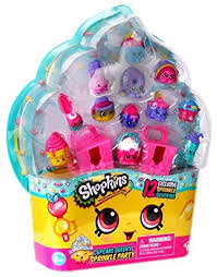 Shopkins Cupcake Queens Sprinkle Party Playset Of 12