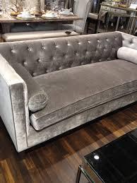 grey velvet tufted sofa. Simple Velvet Tufted Grey Couch With Grey Velvet Sofa Pinterest