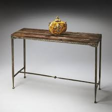 metal hall table. Amazing 42 Best Narrow Console Tables Images On Pinterest Consoles Pertaining To Metal And Wood Table Attractive Hall