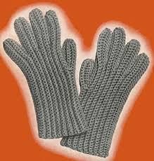 Crochet Gloves Pattern Beauteous Mens Crochet Gloves Pattern 48 Crochet Patterns