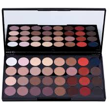 eye shadow palette with mirror