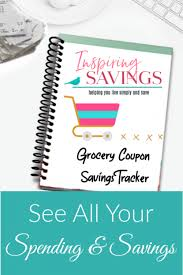 Grocery Coupon Savings Tracker See All Your Savings At A Glance