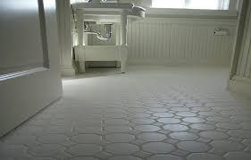 small bathrooms white hexagon concrete bathroom floor tile