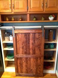 Barn Door In Kitchen Barn Door Style Kitchen Cabinets