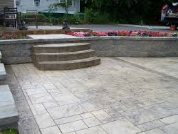 gs llc decorative concrete patios stamped patterns designs stained concrete patios textured patio brushed