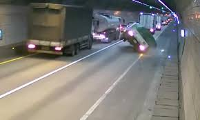 VideoCar Caused Semi Truck To Crash