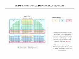 Cort Theater Seating Chart Seating Chart For Gershwin Theater 2019