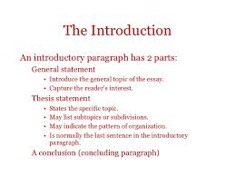 intro for essay expository essay the introduction  view larger