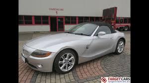 750375 BMW Z4 ROADSTER 2.5L E85 CABRIO 192HP AUT 06-04 SILVER ...