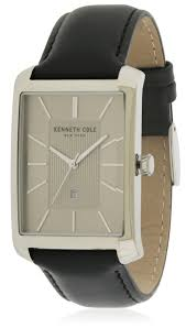 kenneth cole leather men s watch 10030832
