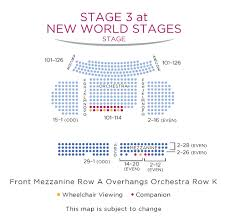 New World Stages Stage 2 Seating Chart New World Stages