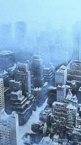 Iphone Wallpaper New York Snow ...