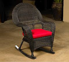 beaches wicker northcape cushions for black rocking chairs inspirations 15