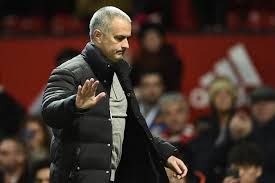 Image result for mourinho frustrated at old trafford