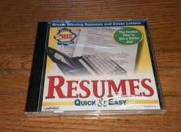 Resumes Quick Easy Version 4 Individual Resume Maker Cover Letters